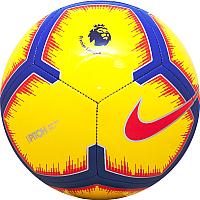 Футбольный мяч Nike Pitch PL / SC3597-710 (размер 5, желтый/красный/фиолетовый) -