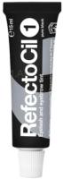 Краска для бровей RefectoCil Eyelash and Eyebrow Tint 1 черный (15мл) -