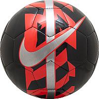 Футбольный мяч Nike React / SC2736-013 (размер 5, серый /черный/оранжевый) -