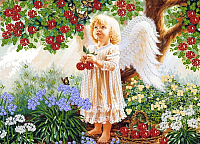 Набор для вышивания Наследие Ангел в саду / НЛ3-052 -
