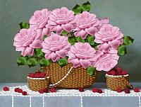 Набор для вышивания Наследие Ягодно-цветочное настроение / НЛ4-014 -