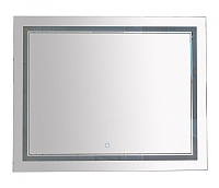 Зеркало для ванной Misty Неон 2 100x80 / П-Нео10080-2ПРСНЗДВП -