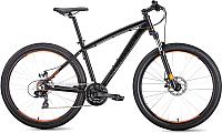 Велосипед Forward Next 27.5 2.0 Disc 2019 / RBKW9M67Q036 (17, черный матовый) -