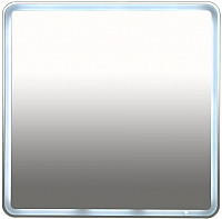 Зеркало Misty Неон 3 80x80 / П-Нео080080-3ПРКВКУ -