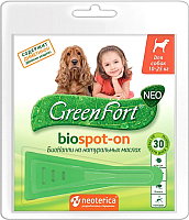 Капли от блох GreenFort Neo БиоКапли для собак / G202 -