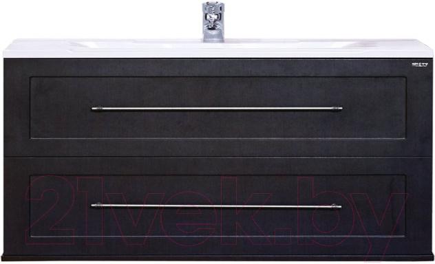 Купить Тумба под умывальник Misty, Марта 100 / П-Мрт-01100-2513П (подвесная), Россия