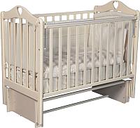 Детская кроватка Антел Каролина-3/5 (слоновая кость) -
