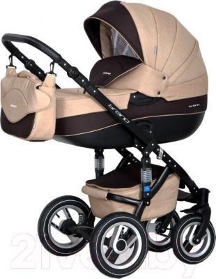 Детская универсальная коляска Riko Brano 2 в 1 (04/mocca) - общий вид