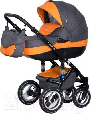 Детская универсальная коляска Riko Brano 2 в 1 (06/orange) - общий вид