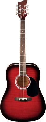 Акустическая гитара Jay Turser JJ45F-RSB - общий вид