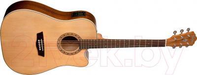 Электроакустическая гитара Washburn WD7SCE - общий вид