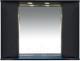 Шкаф с зеркалом для ванной Misty Элвис 105 / П-Элв-01105-052 -