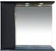 Шкаф с зеркалом для ванной Misty Элвис 85 / П-Элв-01085-052Л -