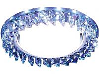 Точечный светильник Ambrella G255 PR/WH (хром/ перламутровый хрусталь) -