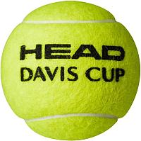 Набор теннисных мячей Head Davis Cup / 571354 (4шт) -