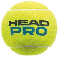 Набор теннисных мячей Head Pro / 571604 (4шт) -