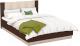 Двуспальная кровать Империал Аврора 160 с подьемным механизмом (венге/дуб молочный) -