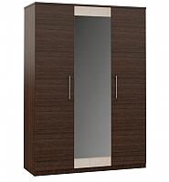 Шкаф Империал Аврора 3-х дверный (венге/дуб молочный) -
