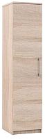 Шкаф-пенал Империал Аврора 1-дверный (дуб сонома/белый) -