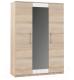 Шкаф Империал Аврора 3-х дверный (дуб сонома/белый) -