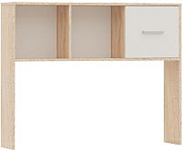 Приставка для стола Империал Стелс 110 (дуб сонома/белый) -