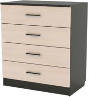 Комод SV-мебель Спальня Эдем 5 (дуб венге/дуб млечный) -