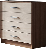 Комод SV-мебель Спальня Эдем 5 (ясень шимо темный/ясень шимо светлый) -