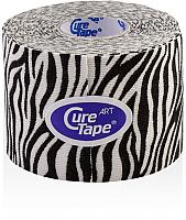 Кинезио тейп CureTape Art Zebra 163180 (белый/черный) -