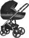 Детская универсальная коляска Riko Brano Silver 2 в 1 (black) -