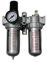 Блок подготовки воздуха Partner AFRL803 (фильтр, регулятор, маслодобавитель) -