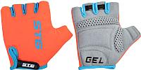 Перчатки велосипедные STG AL-03-325 / Х74365 (L, оранжевый/черный) -
