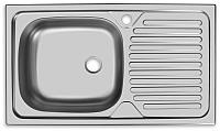 Мойка кухонная Ukinox Классика CLM760.435 5K 2L -