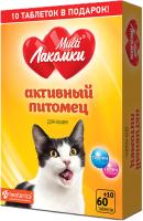 Кормовая добавка для животных МультиЛакомки Активный питомец / L108 (70таб) -