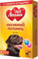 Кормовая добавка для животных МультиЛакомки Активный питомец / L109 (100таб) -