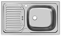 Мойка кухонная Ukinox Классика CLL760.435 GW6K 1R -