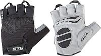 Перчатки велосипедные STG AI-03-202 / Х81534 (М, черный/серый) -