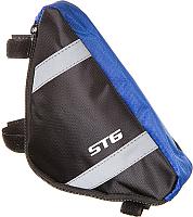 Сумка велосипедная STG 12490 / Х88294 (М, черный/серый) -