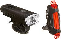 Набор фонарей для велосипеда STG FL1559 TL5411 / Х88383 -