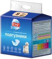 Подгузники для животных Cliny S 3-6кг / K202 (10шт) -