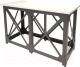 Барный стол Millwood Loft N/L (дуб белый Craft/металл черный) -