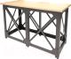 Барный стол Millwood Loft N/L (дуб золотой Craft/металл черный) -