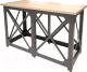 Барный стол Millwood Loft N/L (дуб табачный Craft/металл черный) -