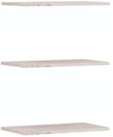 Комплект полок вкладных Империал Джерси (3 шт, дуб крафт/серый) -
