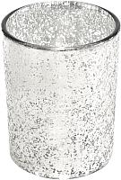 Стакан для зубных щеток Ba-De Silver Glass CSt-1664 (серебристый) -