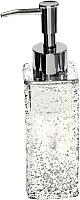 Дозатор жидкого мыла Ba-De Silver Glass CSt-1668 -