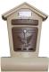 Почтовый ящик Цикл Элит / 6866-00 (бежевый/коричневый) -