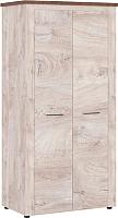 Шкаф Империал Мэдисон 2-х дверный (дуб эндгрейн/дуб экспрессив/бронзовый) -