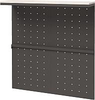 Вешалка для одежды Millwood Neo Loft ML-4/L (дуб белый Craft/металл черный) -