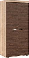 Шкаф Империал Поло 2-х дверный (дуб сонома/дуб экспрессив) -