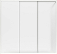 Пластиковая шторка для ванны BAS Бриз 150x145 -
